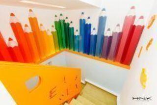 Идея № 1        Цветные карандаши, цифры, буквы, пазлы, звер...