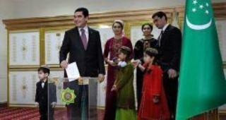 12 февраля в Туркменистане прошли президентские выборы, которы...