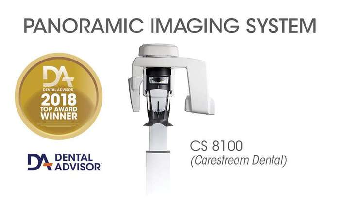 CARESTREAM DENTAL CS 8100 NaviStom