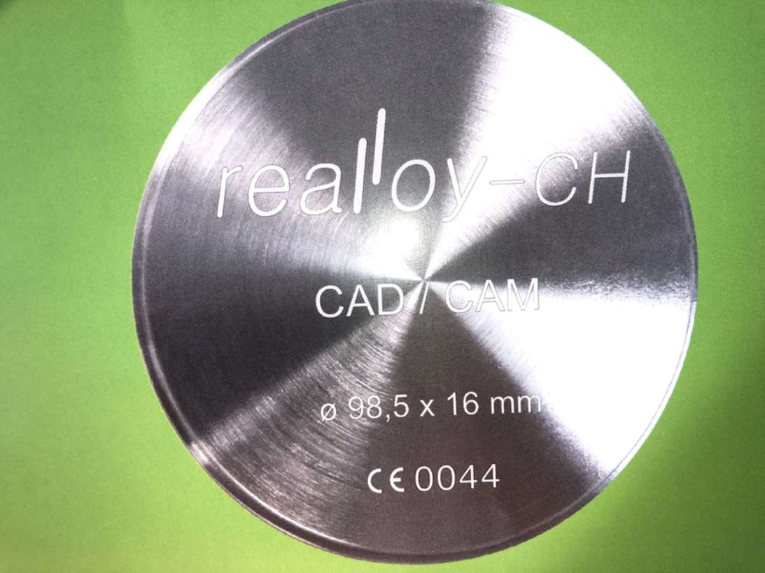 Блоки REALLOY Co-Cr для CAD/CAM NaviStom