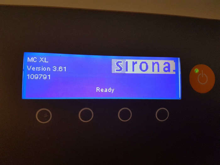 SIRONA CEREC AC Bluecam + MC XL NaviStom